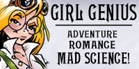 Girl Genius – Steampunk Fantasy