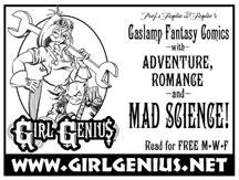 Girl Genius banner